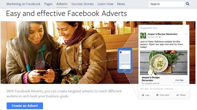 Facebook Advert Marketing