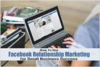 Facebook relationship marketing