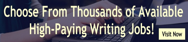 writing jobs available