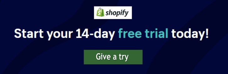 Shopify trial