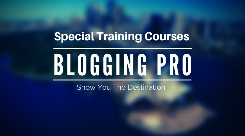 blogging courses