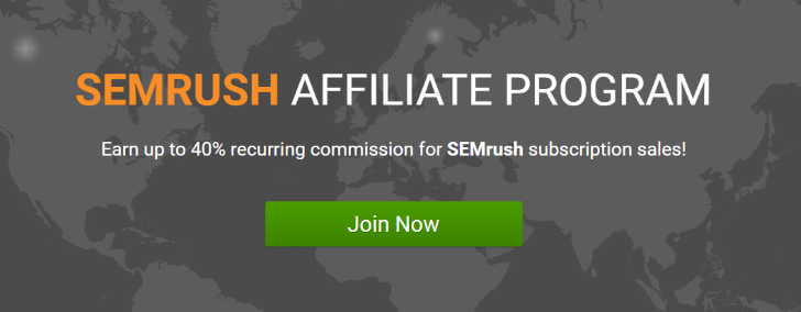 SemRush Affiliate marketing